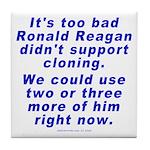 Reagan Clone Tile Coaster