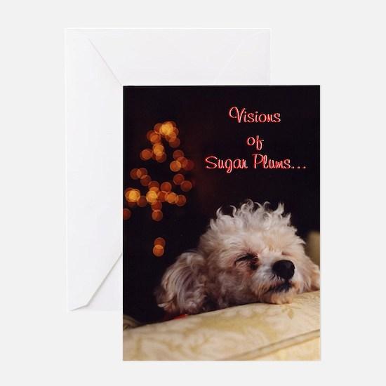 Visions Of Sugar Plums - Greeting Card
