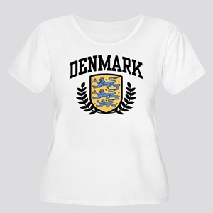 Denmark Women's Plus Size Scoop Neck T-Shirt
