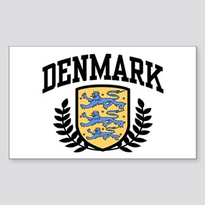 Denmark Rectangle Sticker