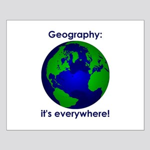 Geography Small Poster