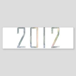 2012 Bumper Sticker