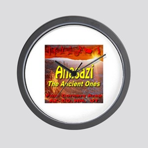 Anasazi The Ancient Ones Wall Clock
