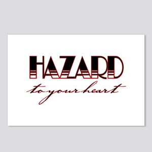 Hazard To Your Heart Postcards (Package of 8)