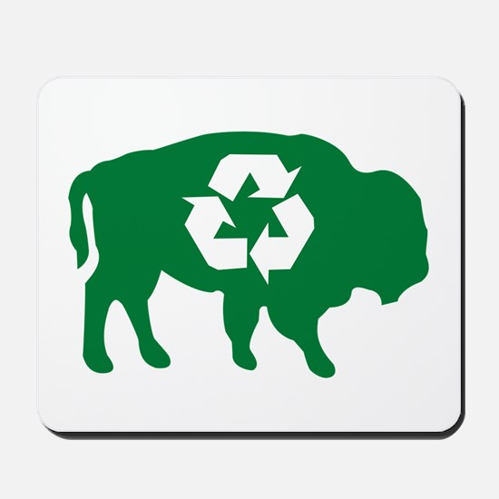 Buffalo Recycle Mousepad