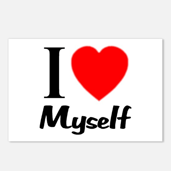 I Love Myself Postcards (Package of 8)