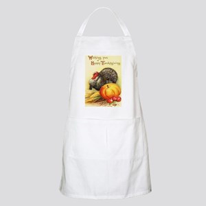 Vintage Thanksgiving Apron