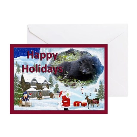 Bearcat Christmas Cards Greeting Cards (Pk of 10)