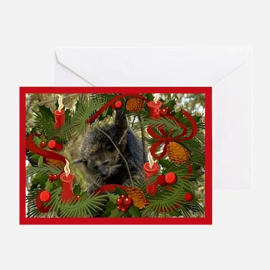 Bearcat Christmas Cards Greeting Card