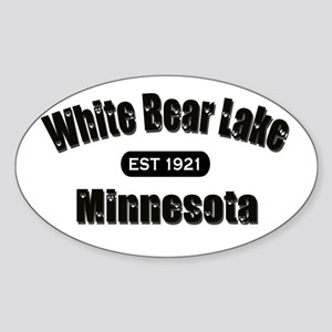 White Bear Lake Est 1921 Oval Sticker