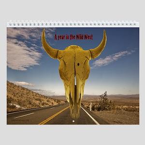 Wild West Calendar Wall Calendar