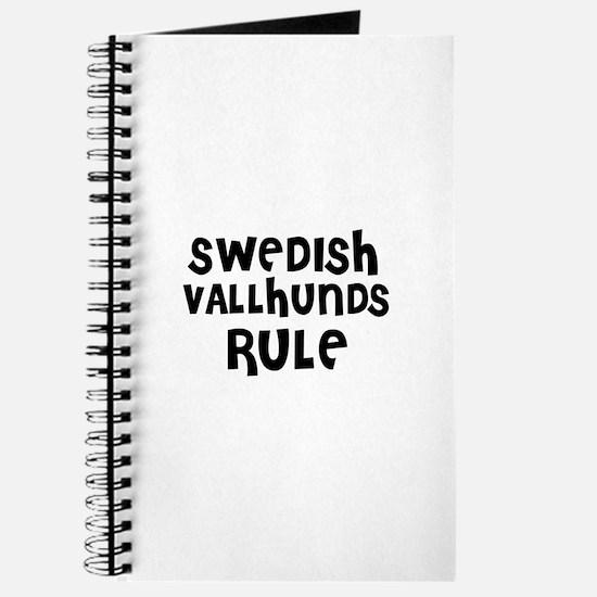 SWEDISH VALLHUNDS RULE Journal