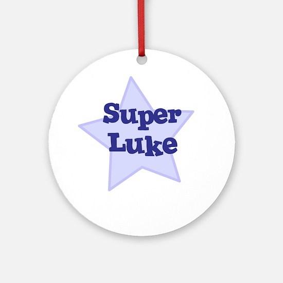 Super Luke Ornament (Round)