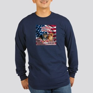 Love USA Long Sleeve Dark T-Shirt