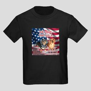 Love USA Kids Dark T-Shirt