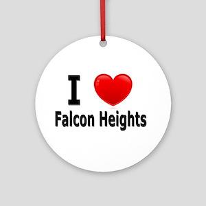 I Love Falcon Heights Ornament (Round)