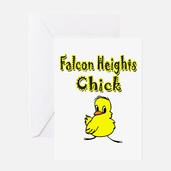 Falcon Heights Chick Greeting Card