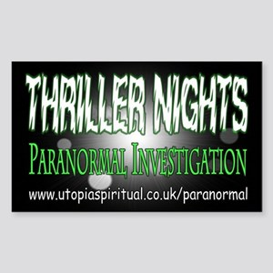 ...T.N Paranormal Team 2... Rectangle Sticker