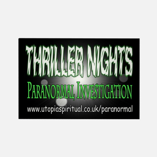 ...T.N Paranormal Team 2... Rectangle Magnet
