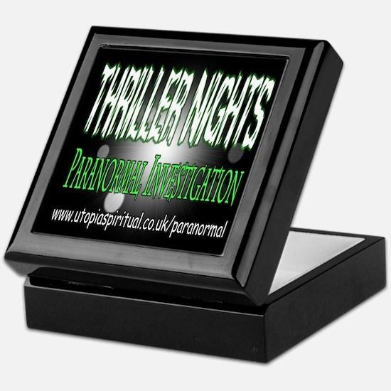 ...T.N Paranormal Team 2... Keepsake Box