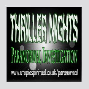 ...T.N Paranormal Team 2... Tile Coaster
