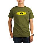 Masonic creed with th Organic Men's T-Shirt (dark)