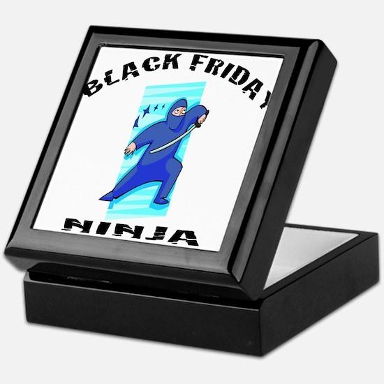 BLACK FRIDAY NINJA Keepsake Box
