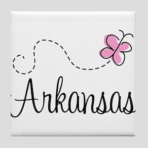 Pretty Arkansas Tile Coaster