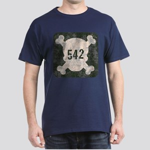542 & Crossbones Dark T-Shirt