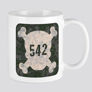 542 & Crossbones Mug