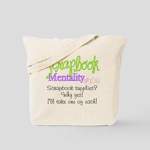 Scrapbook Mentality #109 Tote Bag