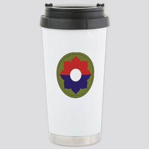 9th INFANTRY DIVISION Stainless Steel Travel Mug