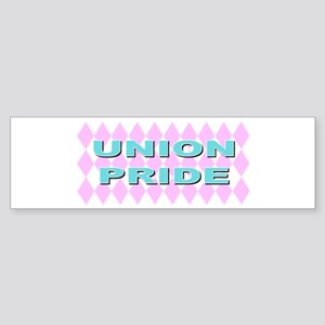 Diamonds union pride Bumper Sticker