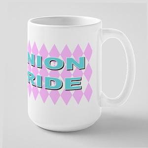 Diamonds union pride Large Mug