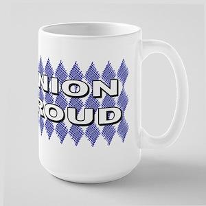 Diamonds union pride3 Large Mug