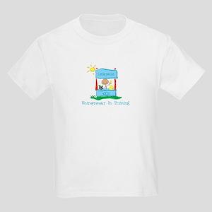 Entrepreneur In Training Kids Light T-Shirt