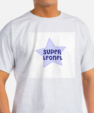 Super Leonel Ash Grey T-Shirt