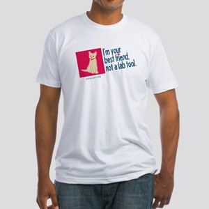 I'm Your Best Friend(Cat2) Fitted T-Shirt