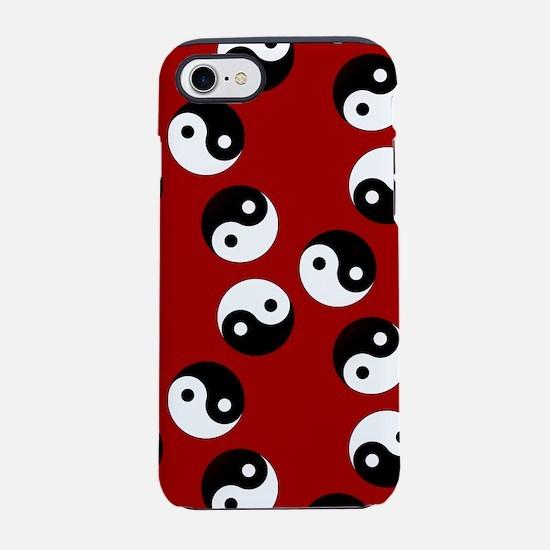 Yin Yang Pattern iPhone 7 Tough Case