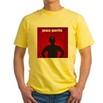 Peace Guerilla Yellow T-Shirt