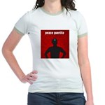 Peace Guerilla Jr. Ringer T-Shirt