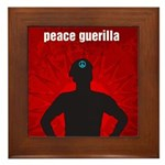 Peace Guerilla Framed Tile