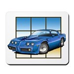 79-81 Trans Am Blue Mousepad