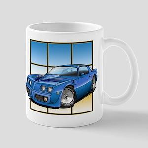 79-81 Trans Am Blue Mug