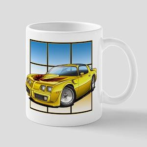 79-81 Trans Am Yellow Mug
