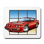 79-81 Trans Am Red Mousepad