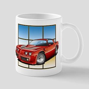 79-81 Trans Am Red Mug