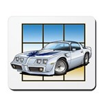 79-81 Trans Am White Mousepad