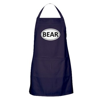 BEAR Euro Oval Apron (dark)