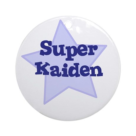 Super Kaiden Ornament (Round)